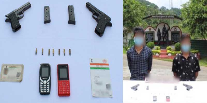 Arunachal:Assam Rifles apprehends two NSCN(R) cadres in Changlang