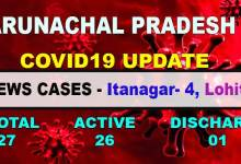 Photo of Arunachal Pradesh  reports 5 new Covid19 positive cases