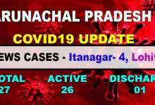 Photo of Arunachal Pradesh  reports 5 new Covid19 positive cases
