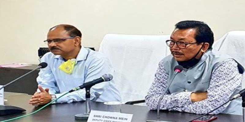 Arunachal: Chowna Mein reviews Covid-19 situation in Namsai