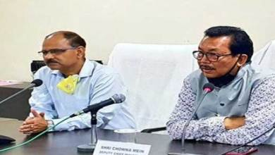 Photo of Arunachal: Chowna Mein reviews Covid-19 situation in Namsai