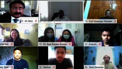 Photo of Arunachal:RGU organizes Online Social Work Alumni Meet 2020