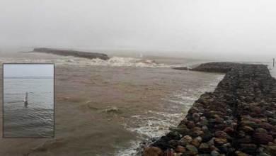 Photo of Arunachal: Siang river crosses danger level,Tie-Bund at Sigar got breached