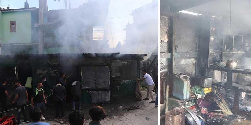 Arunachal: Blaze guts 2 shops, 1 tea stall, 1 pan shop in Tawang