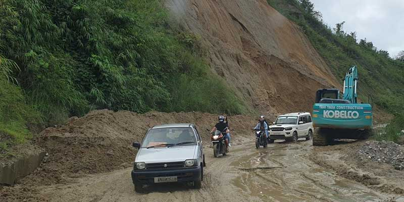 Arunachal:Papu Nallah–Yupia road opened for one way vehicular traffic