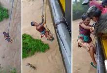 Photo of Arunachal: 2 rescued from Sibo Korong river in Pasighat
