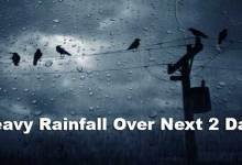Northeastern States to Receive Heavy Rainfall Over Next 2 Days- IMD