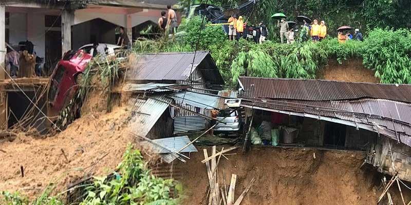 Arunachal: Landslides in Itanagar, Heavy rains predicted, DC appeals denizens to stay alert