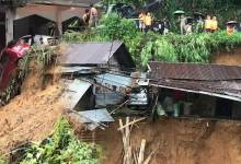 Photo of Arunachal: Landslides in Itanagar, Heavy rains predicted, DC appeals denizens to stay alert