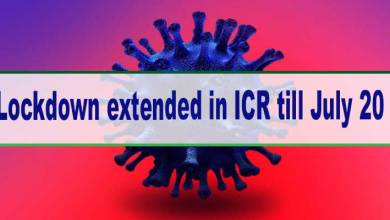 Arunachal: Lockdown extended in ICR till July 20