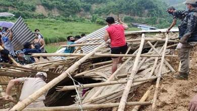 Arunachal: four people feared buried alive in Modirijo landslide