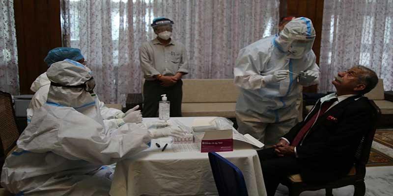 Arunachal: Governor, officials and Staff of Raj Bhavan undergo Antigen Test for Coronavirus