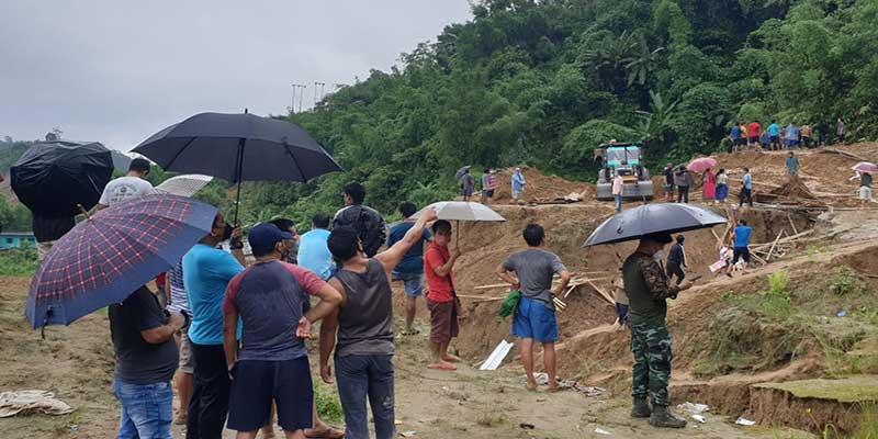 Itanagar:2nd massive landslide in Capital complex claims 4 lives