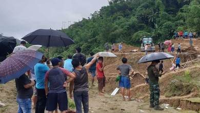 Photo of Itanagar:2nd massive landslide in Capital complex claims 4 lives