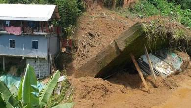 Itanagar- NCWC requests authorities for construction of protection wall, roads and drainage system damaged due to landslides