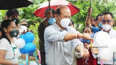 Photo of Arunachal: Moyong inaugurates water supply project at Tigra-Mirbuk village