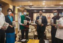"""Photo of Pema Khandu releases book """" The Tangams: An Ethnolinguistic Study Of The Critically Endangered Group of Arunachal Pradesh"""""""