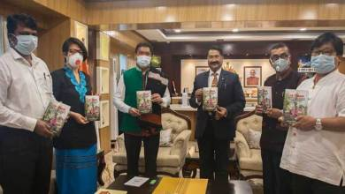"Photo of Pema Khandu releases book "" The Tangams: An Ethnolinguistic Study Of The Critically Endangered Group of Arunachal Pradesh"""