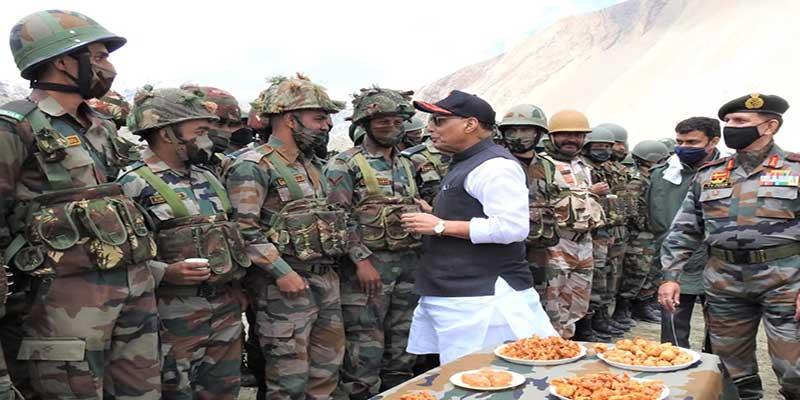Raksha Mantri Rajnath Singh visits Ladakh and Kashmir Valley