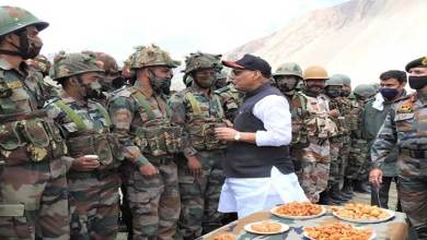 Photo of Raksha Mantri Rajnath Singh visits Ladakh and Kashmir Valley