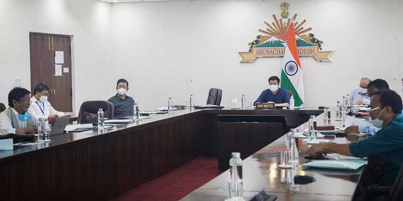 Arunachal: CM chairs SDMA meet, Reviews Measures Taken on Strengthening the Fight against COVID-19