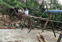 Photo of Arunachal: flash flooddamages Ledum Water Supply Project