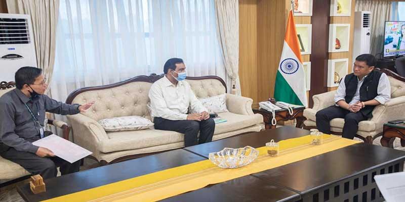Arunachal : Khandu reviews implementation of Atma Nirbhar Bharat loan schemes