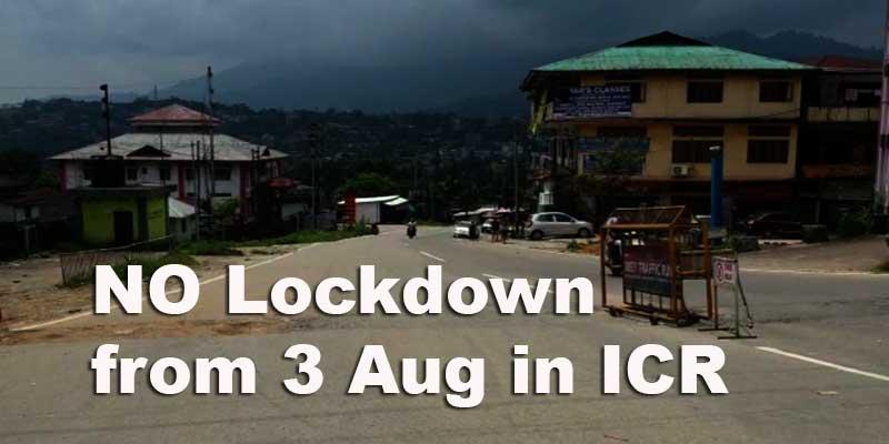 Arunachal: NO Lockdown from Aug 3 in Itanagar Capital Region