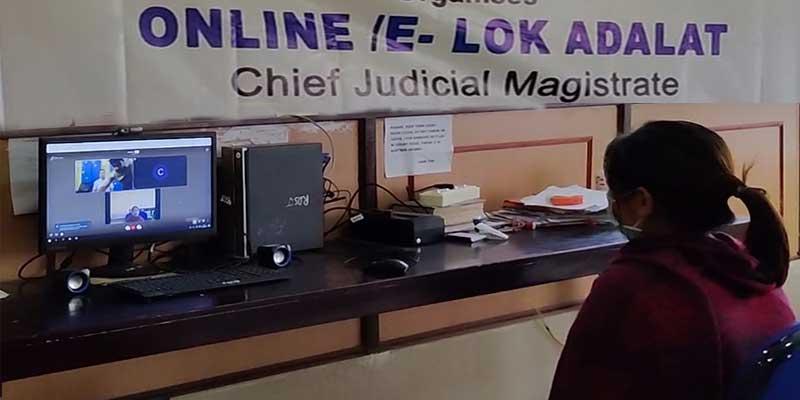 Arunachal: First E-Lok Adalat held in various districts of Arunachal Pradesh