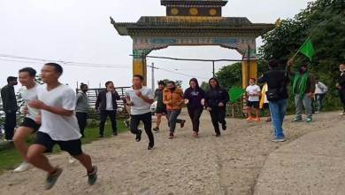"BJYM organised fit India, fit Arunachal run across the state Itanagar: The Bharatiya Janata Yuva Morcha (BJYM) today organized marathon race in the name and style of ""run for fit India and fit Arunachal across the state"". Due to Covid 19 pandemic the participants were restricted and limited in all places but participation was made by representative of several area so that they send the message to others in their respective area. The BJYM sources said. This is an example for us but most important is that the exercise will make a man a fit body and a sound mind and this also gives a message to outsiders and also those who did not participated due to Covid and bad weather will carry out daily exercise to remain fit and fine. A senior party leaders said. The fit India freedom run was organized across the state. All district unit, mandal level and booth level also organsied the run to make the participation of local leaders which will inspire others. The winners 1st, 2nd and 3rd respectively were given away with prizes and case award. At state capital Itanagar the marathon run was held from Arunodaya Higher Secondary School to IG Park which was participated by the members of the youth wing, the run was flagged off by state BJP President Biyuram Wahge, Arunachal East MP Tapir Gao, Minister Sports & Youths Affairs Mama Natung, BJYM President Ram Tajo and others In West Kameng district, the BJYM sponsored marathon race was flagged off by West Kameng district BJP President Yeshi Yamchodu and Bomdila town Magistrate Keshang Wangda. The rally started from Pedung gate via Bazar line, Buddha stadium, Bomdila. Around 60 youths participated the run. In Papum Pare district the run was held in Doimukh circle where the race was held from Cola camp to Yupia district hq. Doimukh local MLA Tana Hali Tara flagged off the rally and also address the gathering. Report of marathon race organized have been reported from Lower Siang, Namsai, Upper Siang and other district of state."