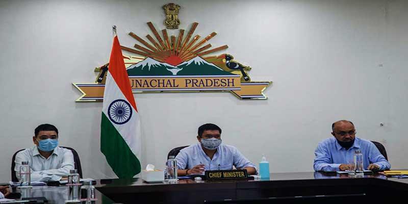 Arunachal: Pema Khandu reviews central schemes under WCD and SJETA
