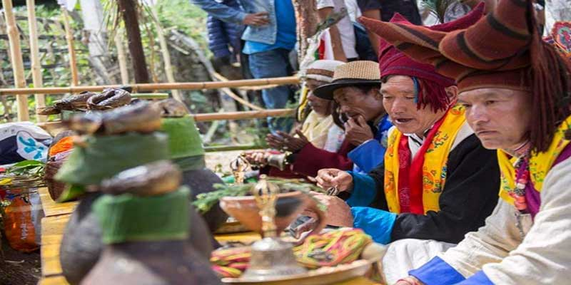 Photo of Arunachal: Tang Festival 2020 celebrated by the Sartang tribe