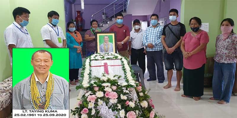 Arunachal:Social worker Taying Kuma (Tarh) passes away