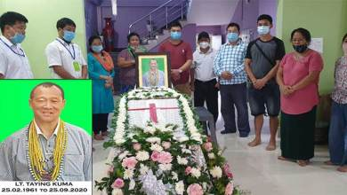Photo of Arunachal: Social worker Taying Kuma (Tarh) passes away