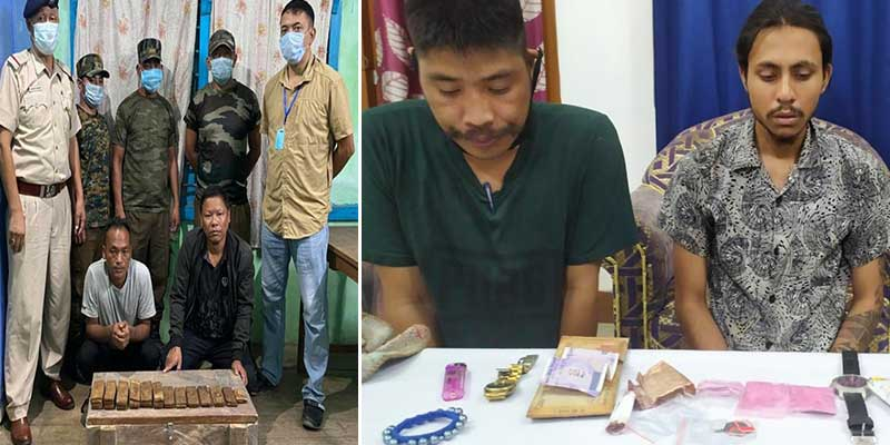 Arunachal: Drug peddlers apprehended in Changlang, Opium, Brown Sgar recovered