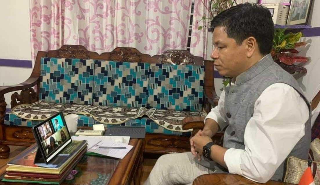 Arunachal: Simai requestes GoI to establish Integrated Check Post and Land Custom Station at Nampong