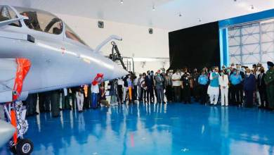 Photo of Ambala: Rafale Fighter Aircraft formally inducted into Indian Air Force