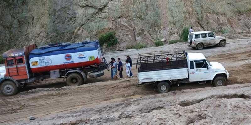 Arunachal: Kra Daadi DC ask NHIDCL to properly maintain road between Yapap Bogu to Meer