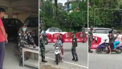 Photo of Itanagar: Drive against those not wearing Masks will continue- Capital Police
