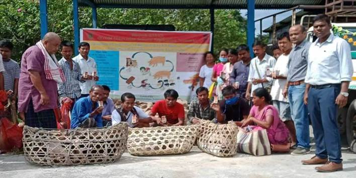 Arunachal: Violation of COVID-19 SOPs in a programme organised by KVK, Namsai