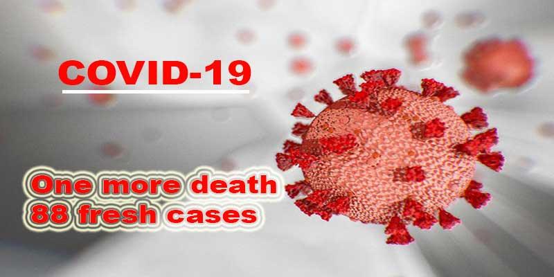 Arunachal Pradesh records 88 fresh COVID-19 cases, one more death
