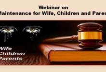 "Itanagar: Himalayan University Organises Webinar on "" Maintenance for Wife, Children and Parents"""
