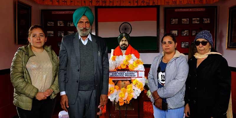 Arunachal: Joginder War Memorial inaugurated at Bum La
