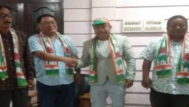 Photo of 2019 PPA MP candidate Mongol Yomso from East Arunachal joins INC