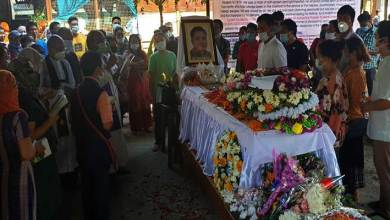 Photo of Arunachal: People throng at Naharlagun to bid adieu to Tame Kunia Tarh