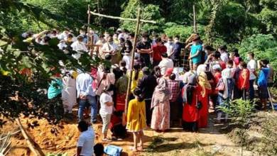 Photo of Itanagar: Large Crowd To Pay Last Respect To Yumlam Aam
