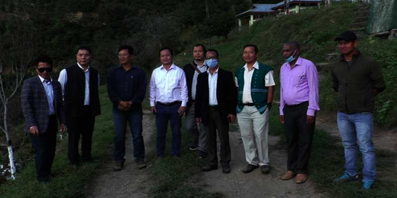 Arunachal: Alo Libang visits Horticulture Farms in West Kameng