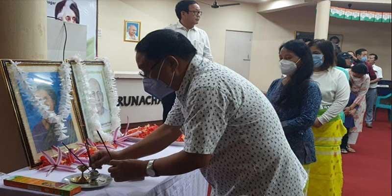 Itanagar-APCC remember Sardar Patel and Indira Gandhi, observed 'Kisan Adhikar diwas'