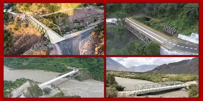 Arunachal: Rajnath Singh dedicates 44 bridges constructed by BRO to nation