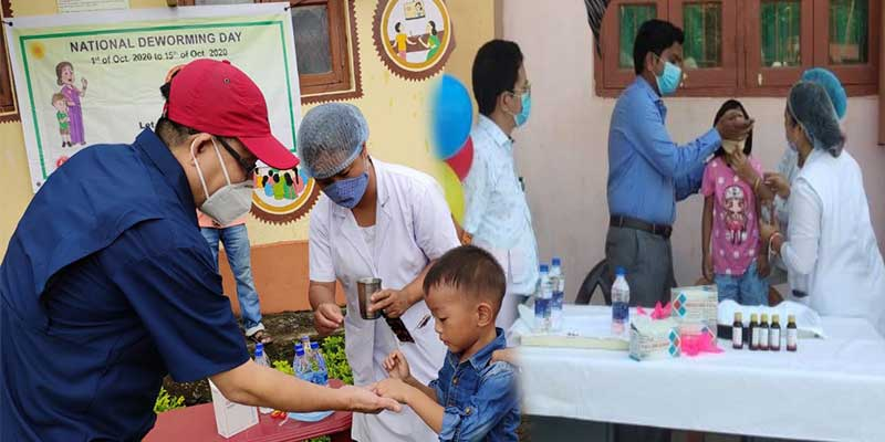 Arunachal:  2nd round of National Deworming Day launched all over state